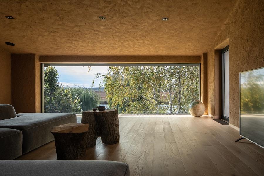 Wabi-Sabi/Zen Japanese inspired room.