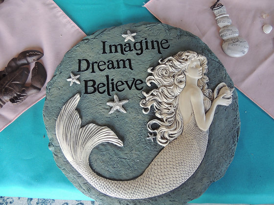 Mermaid Stepping Stone~Resin
