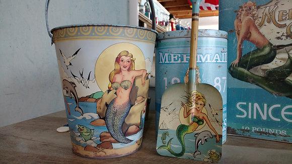 Mermaid Pail & Shovel