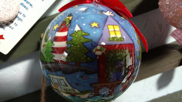 West Quoddy Ornament Ball