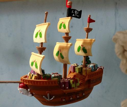 Christmas Pirate Ship!