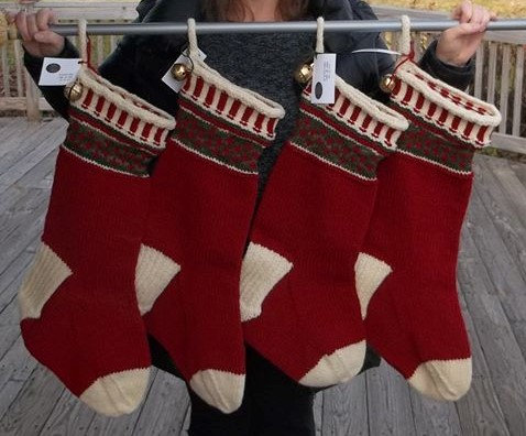 Beautifully Handcrafted LARGE Stocking