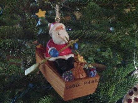 Santa on Dory