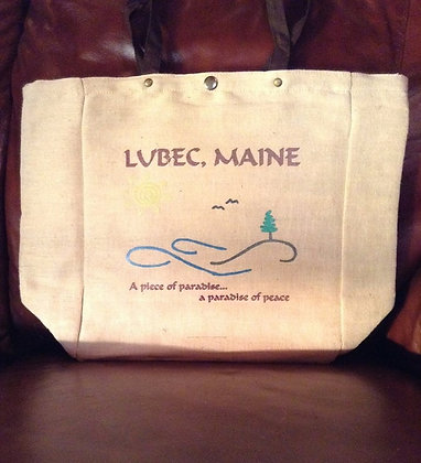 Lubec~Piece of Paradise Tote