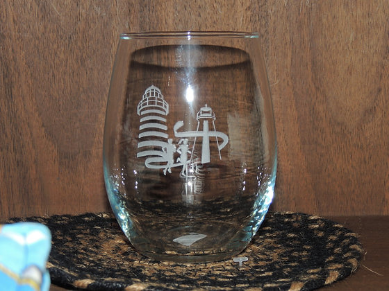 Bay of Fundy Marathon Stemless Wine Glass