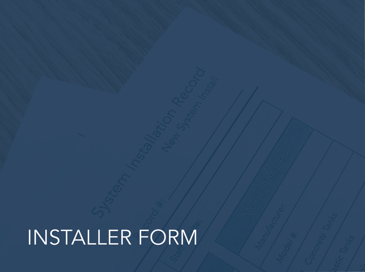 Installer Form