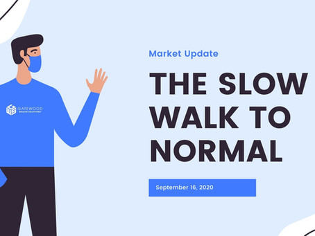 The Slow Walk to Normal