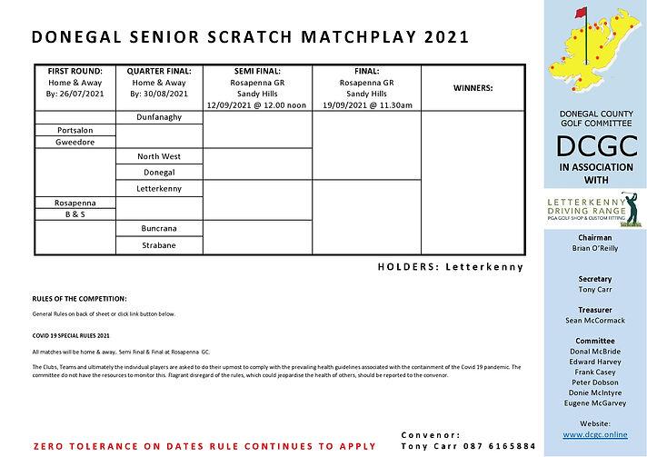 DCGC 2021 Post Covid Donegal Senior Scra