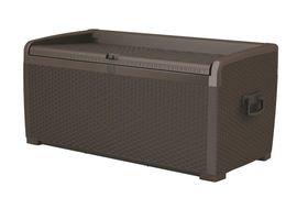 XL Rattan Style Storage Box