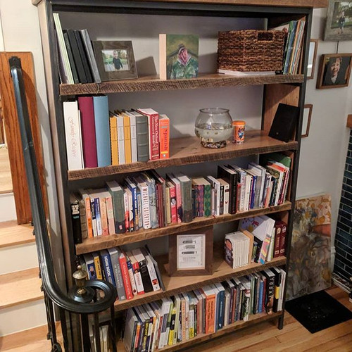 Rustic Industrail Bookcase