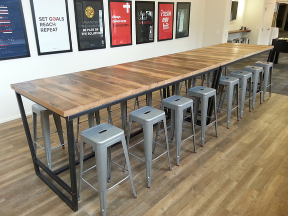 Mighty Rustic Industrial Conference Table