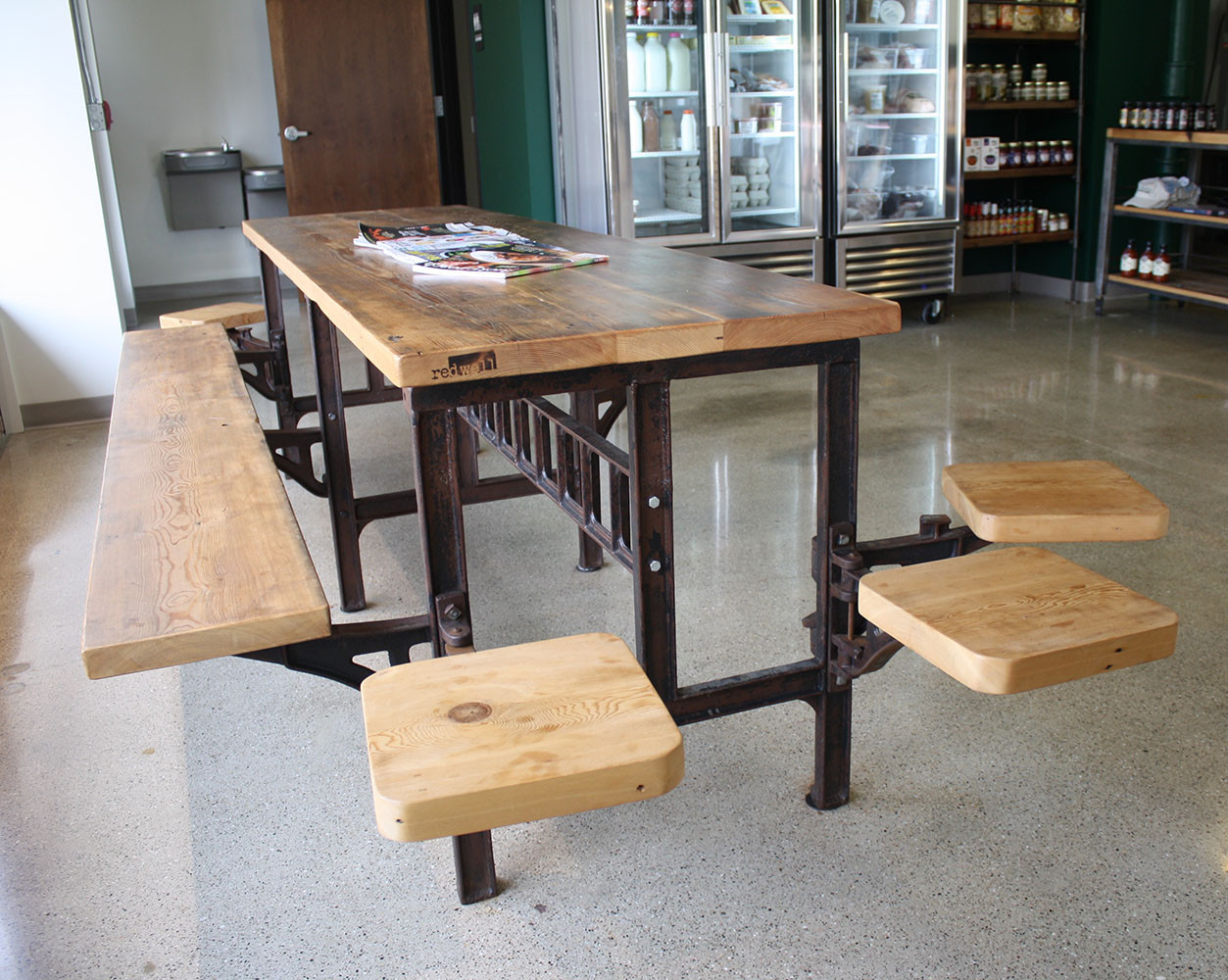 Cafe Table at E.A. Brady's