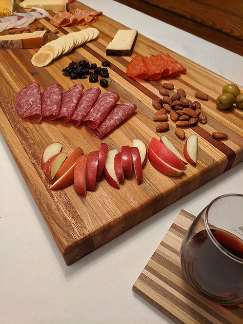 Reclaimed Wood Charcuterie Board