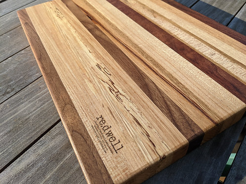 Mixed Species Reclaimed Wood  Cutting Board