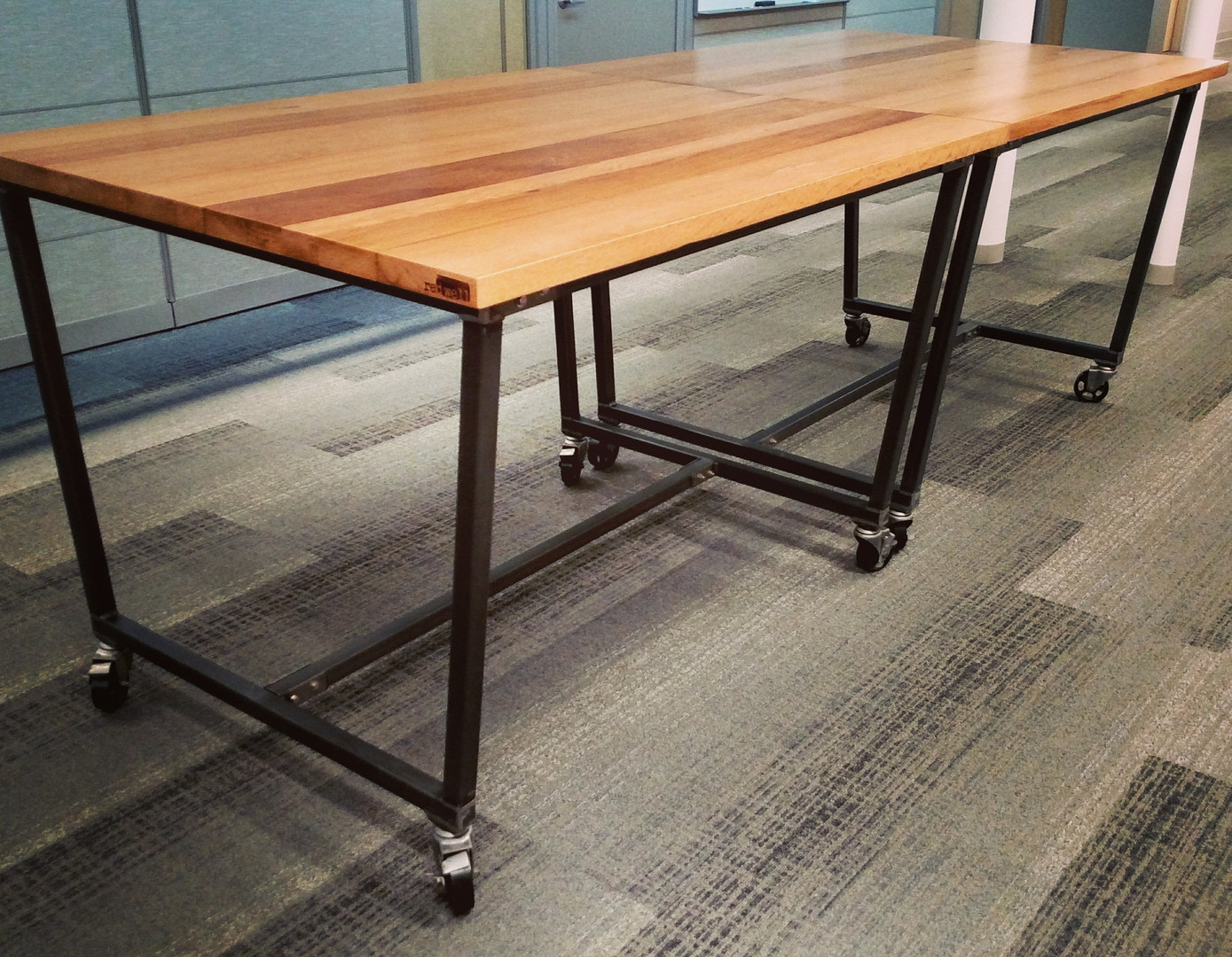 Rolling Multi-purpose Meeting Tables