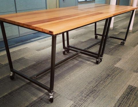 Rolling Multi-purpose Meeting Tables