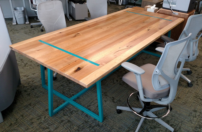 Byrne Electric Eclectic Work Table