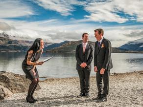 Wanaka winter elopement