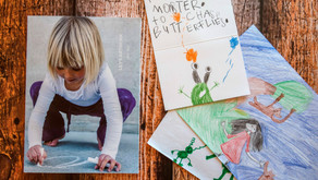 Easy way to honour your child's artwork