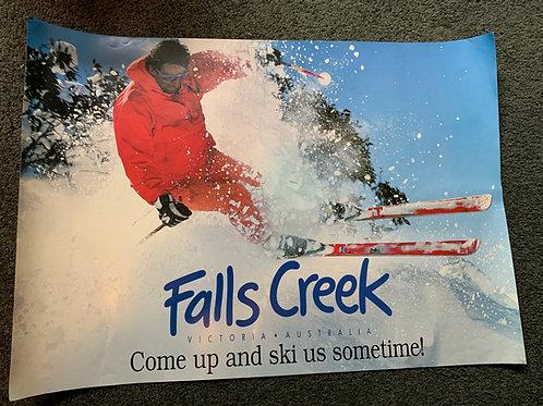Poster - 'Come Up and Ski Us Sometime'