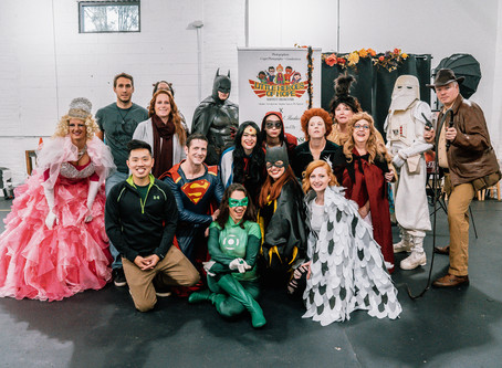 Our First Little Heroes of Hope Halloween Party!