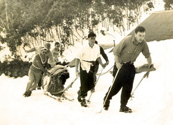 Tracking outside Bogong Ski Club