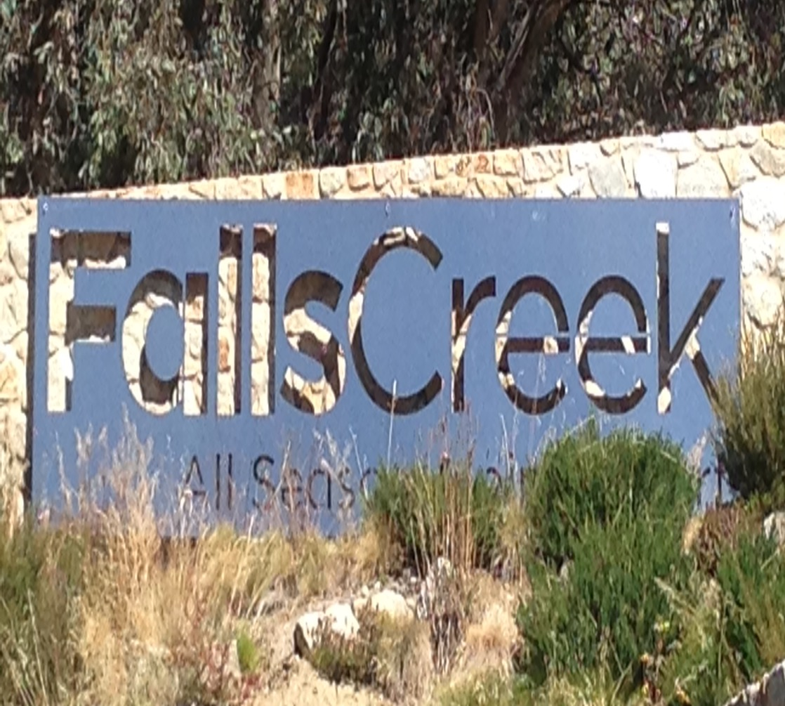 Falls Creek Entrance