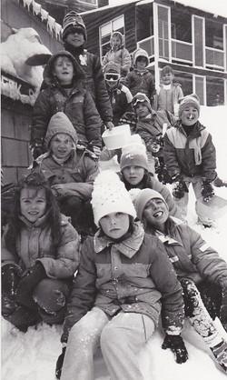 Falls Creek Primary School students