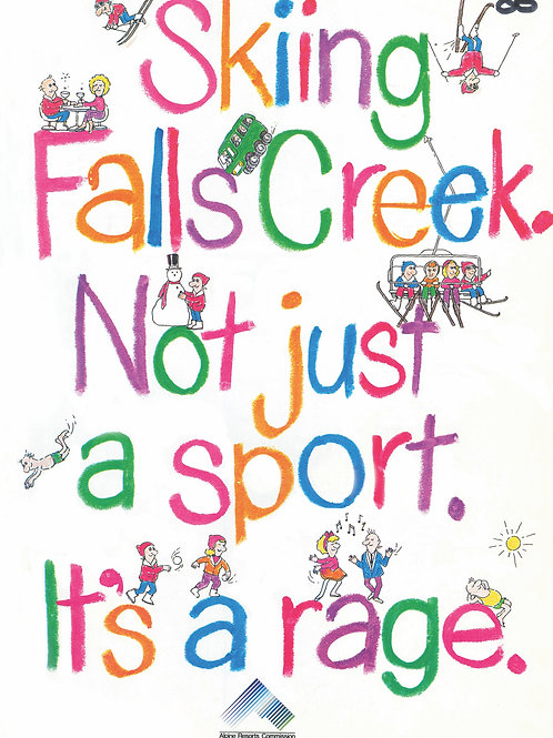 Poster: Not just a sport, it's a rage