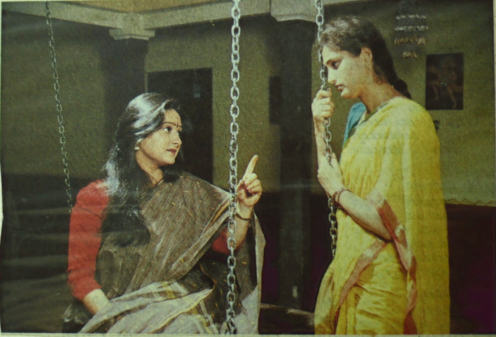 A Rare Still From Mayamruga