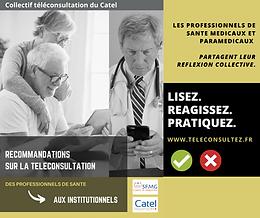 Les Recommandations du Collectif Téléconsultation aux institutionnels
