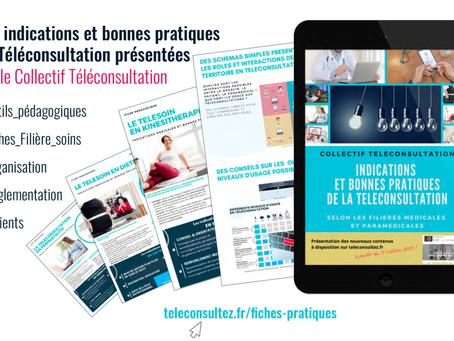 Téléconsultation : publication de fiches-pratiques pour guider les professionnels