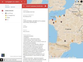 Cartographie et fiches projets de la télémédecine en plaies et cicatrisations