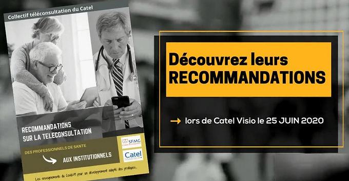 Invitation Presse : publication des Recommandations le jeudi 25 juin !