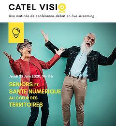 Catel Visio : découvrez le podcast de la session sur la téléconsultation