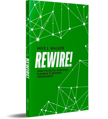 Rewire! using Digital Ecosystem Playbook to reinvent Your Business Book Cover