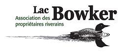Logo de l'Association des propriétaires riverains du lac Bowker - Protection, information, sensibilisation