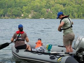 Y a-t-il ou non du myriophylle à épis au lac Bowker ?