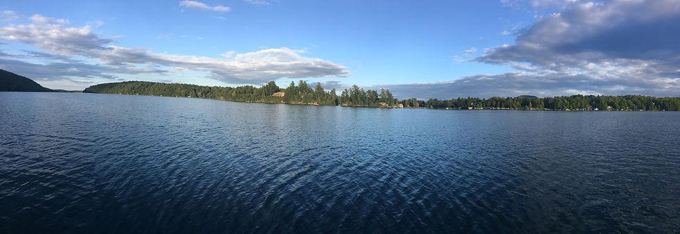 Photo du lac Bowker en Estrie (Orford - Cantons de l'Est) - APRLB