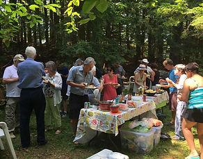 Photo d'une activité de l'Association des propriétaires riverains du lac Bowker, Estrie - Cantons de l'Est - Québec