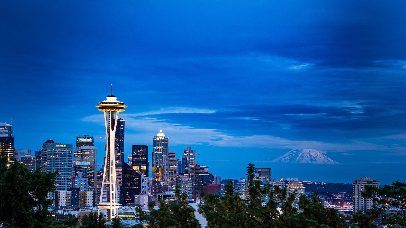 Monte Rainier - Seattle 2016