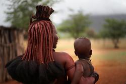 Namíbia - Mãe Himba