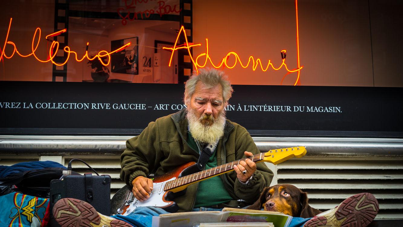Músico - Paris 2014