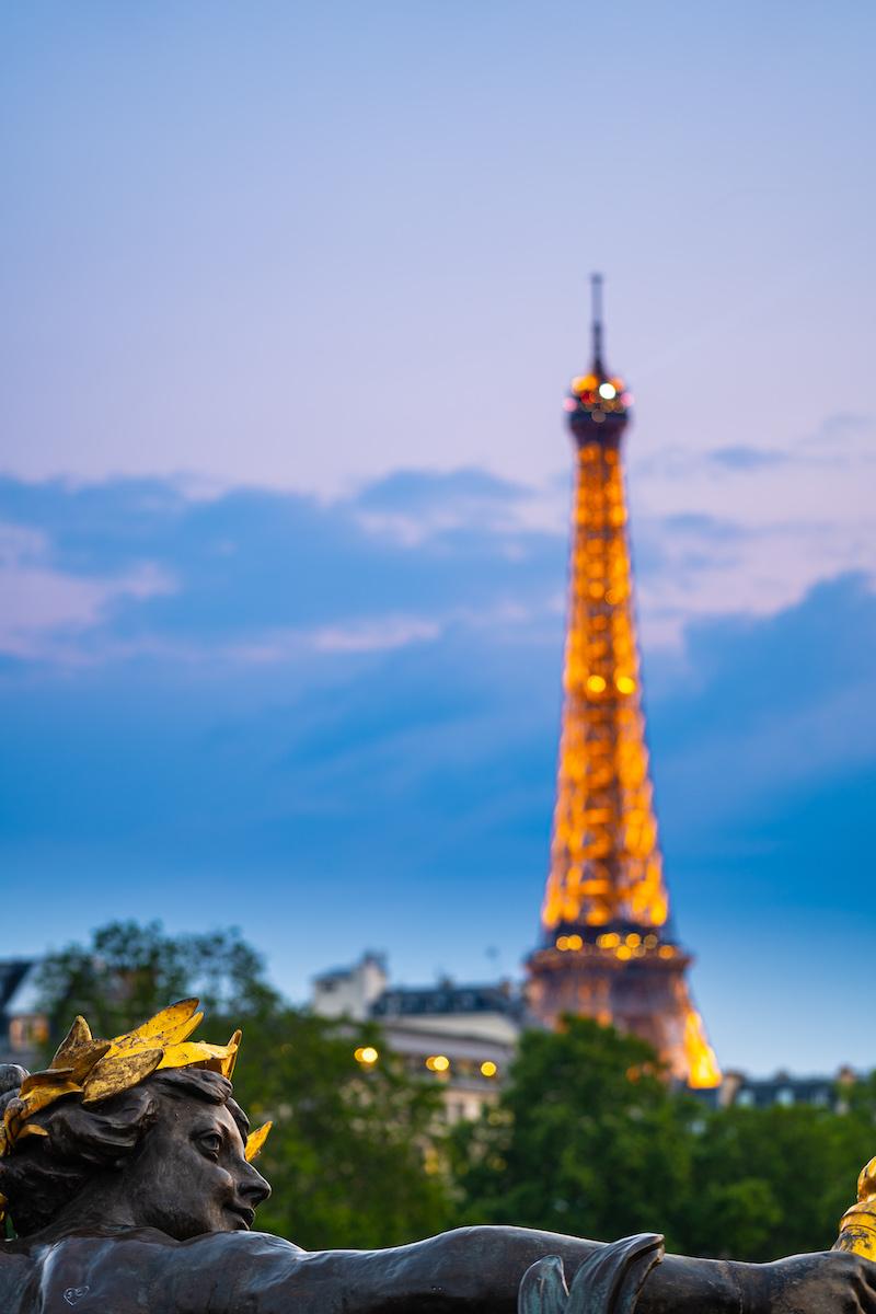 Ponte Alexandre III - Paris 2019