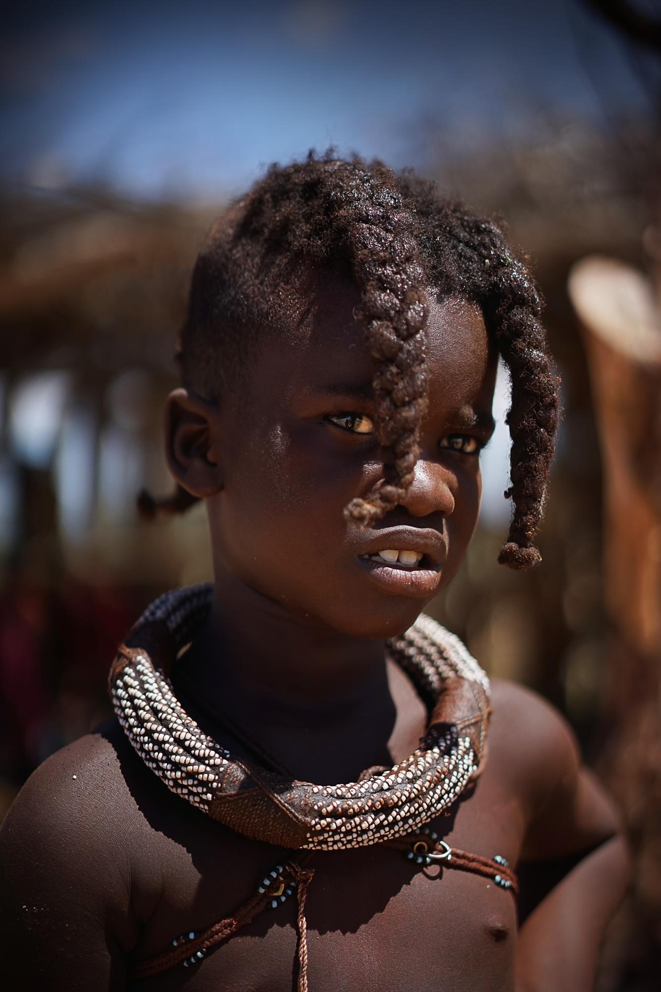 Garota Himba - Namíbia
