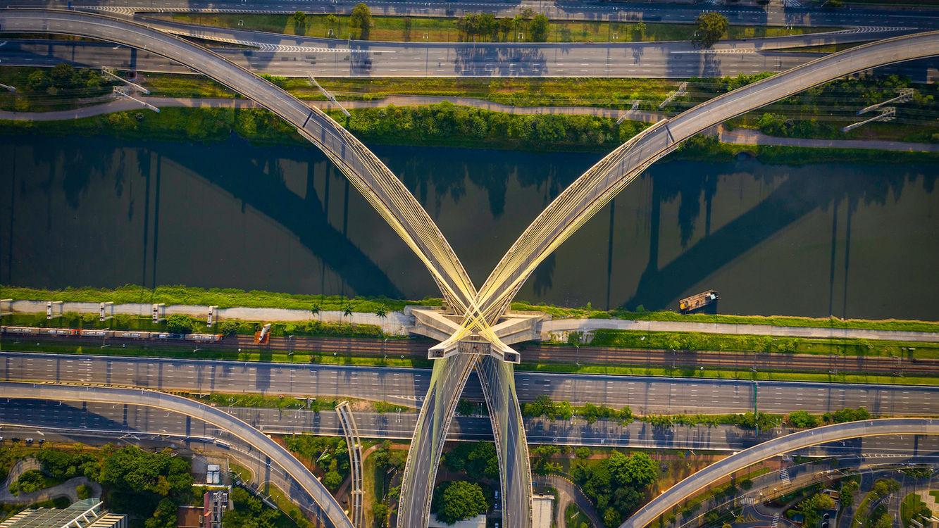 Ponte Estaiada 31_03_2020  Terça-Feira 16h57