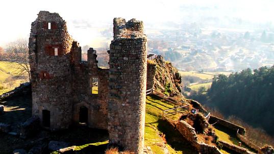 Le Château de Rochebaron à Bas-en-Basset