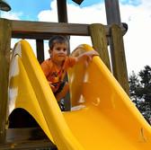 Aire de jeux extérieur pour enfants