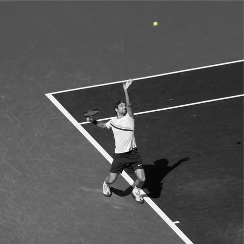Federer at Indian Wells