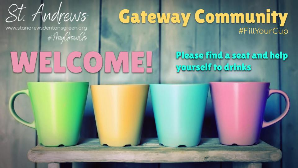 16 June 2019 Gateway Trinity Sunday